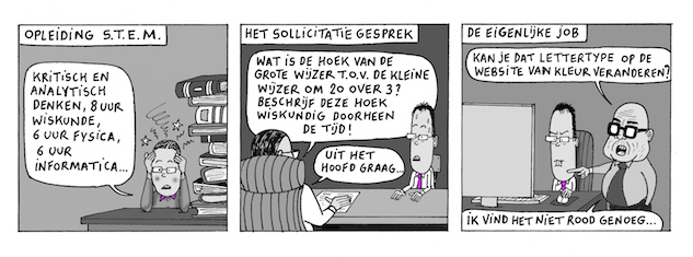 cartoon stem arnout van den bossche