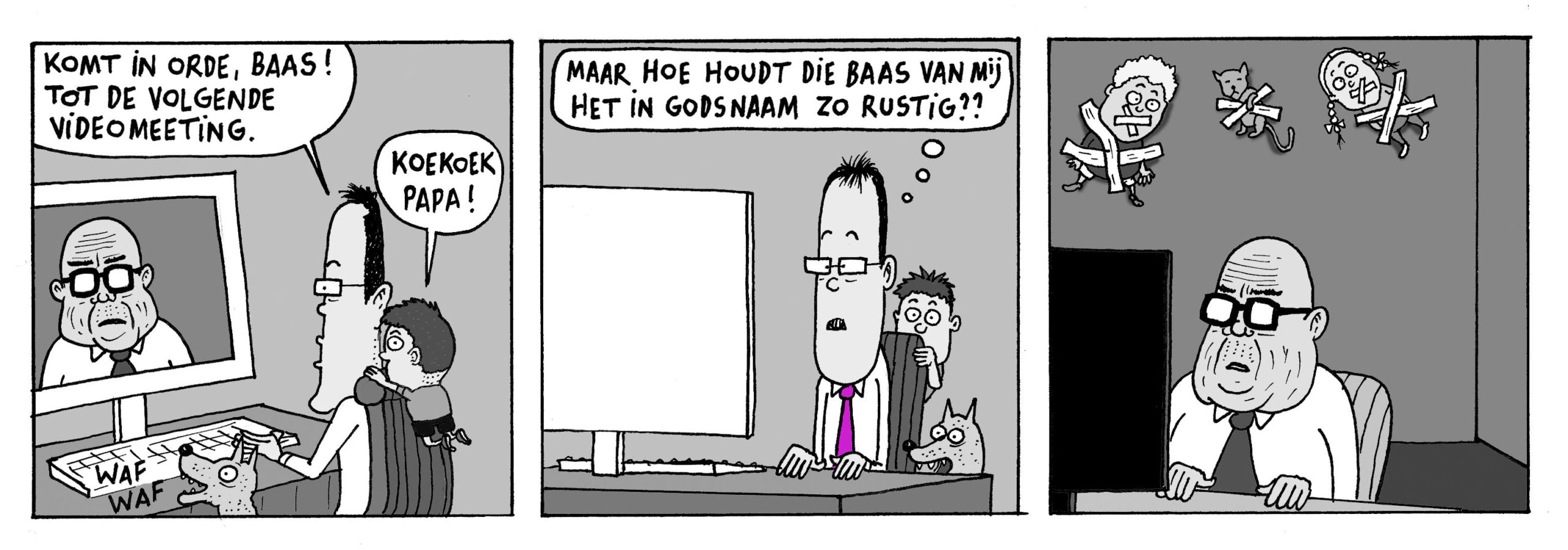 corona cartoon Arnout Van den Bossche